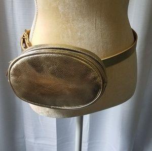Handbags - New belt bags | gold fanny pack